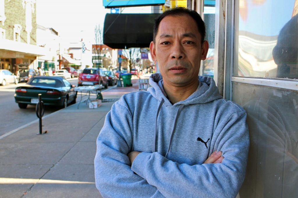 Kevin Mak is planning to open his third local sushi restaurant. Photos by Michael Thompson.