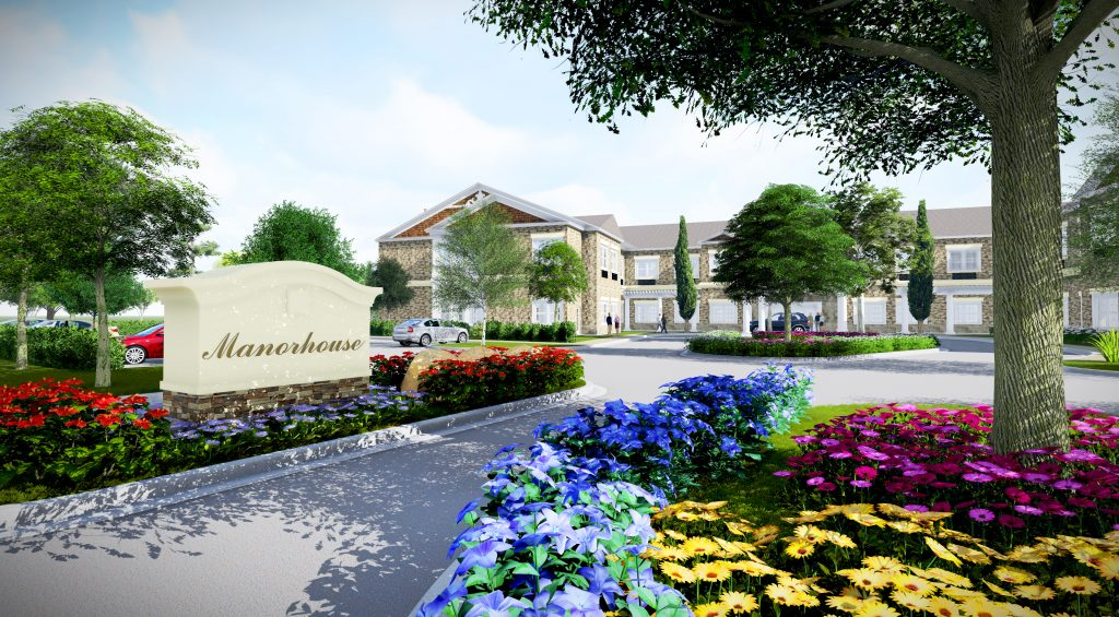 Another senior living complex is in the works in  the Short Pump area. Renderings courtesy of Manorhouse.