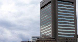 The 25-story SunTrust Tower.