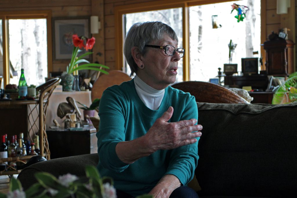 Nelda Snyder is putting her longtime home on the market. Photos by Jonathan Spiers.