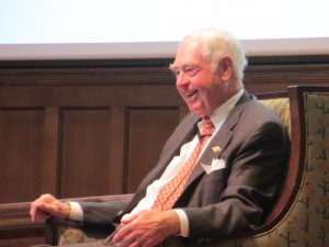 Bill Goodwin at a University of Richmond C-Suite Conversation event in March.