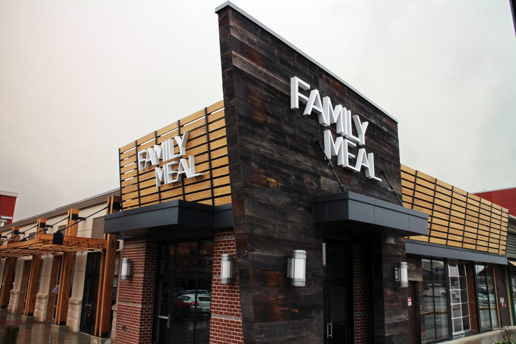 Family Meal opened on Friday. Photos by Michael Thompson.