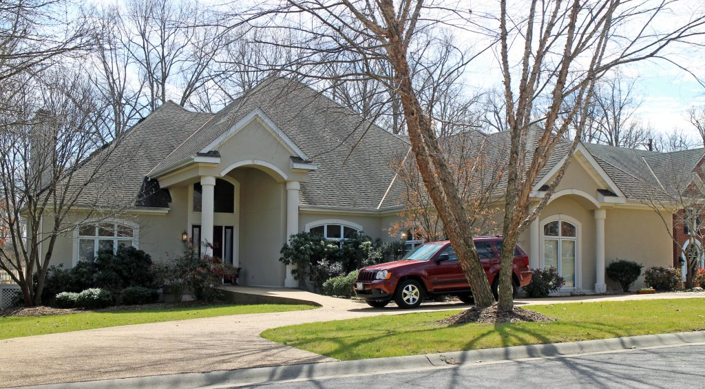 The former governor and first lady have put their house, at