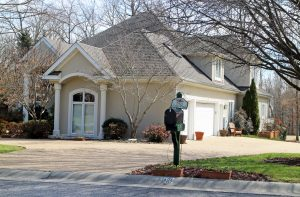 The home was built in the late '90s and has six bedrooms and 5 1/2 baths.