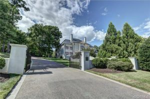 The home at 8333 River Road tailed the Rocketts Landing town house in last month's sales. Photo courtesy of CVRMLS.