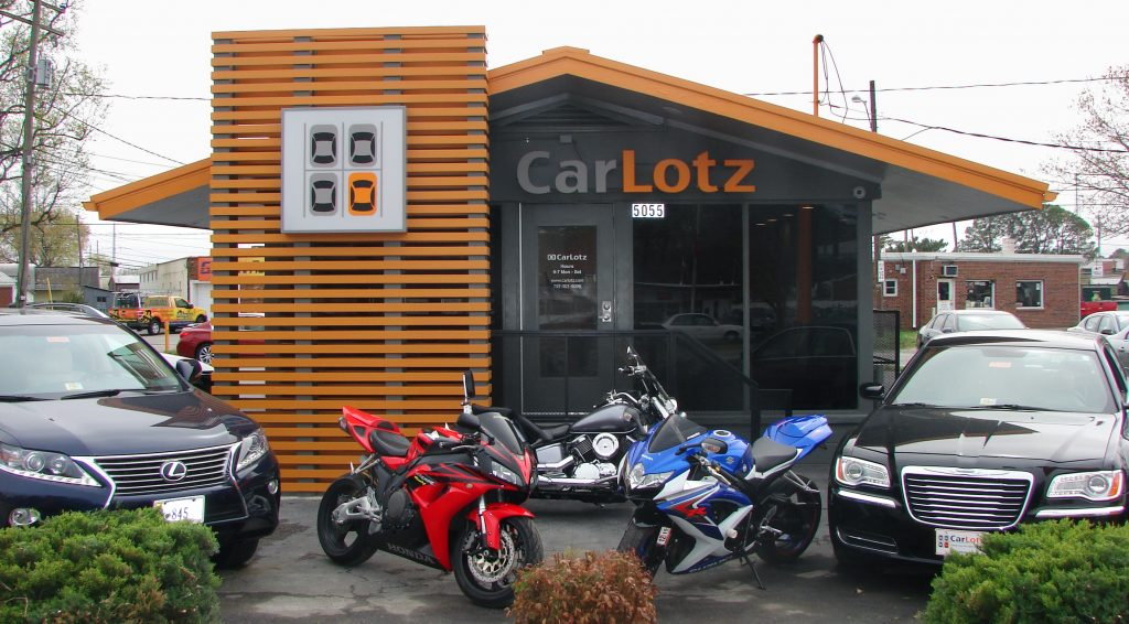 CarLotz recently opened a location in Virginia Beach. Photo courtesy of CarLotz.