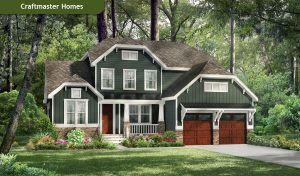 Rendering of a RounTrey Craftmaster home. Courtesy of RounTrey.