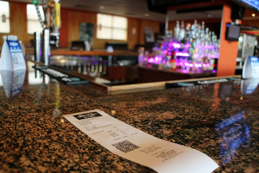 Lalo's Cocina has started printing its receipts with Zapper QR codes. Photos by Michael Thompson.