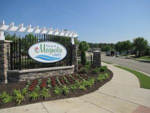 The first 110 homes in Magnolia Lakes should be finished by the end of next year.