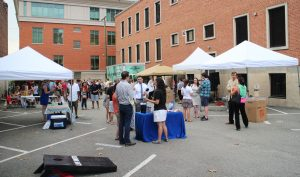 Gather celebrated its first birthday at an event Friday. Photo by Michael Thompson.