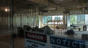 Hourigan is gutting its future home on the building's fourth floor.