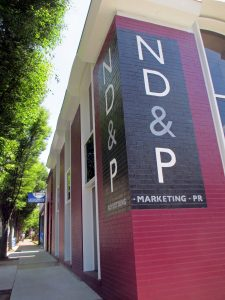 ND&P's local office is at 1 E. Cary St. Photo by Jonathan Spiers.