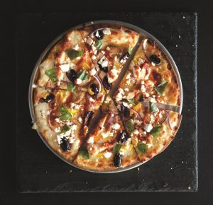 Pie Five specializes in personal-sized pizzas.
