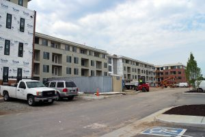 Spy Rock is finishing up new construction at a former Scott's Addition Coca-Cola plant.