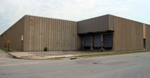 An abandoned mattress company warehouse is being eyed for demolition by a developer. Photos by Katie Demeria.
