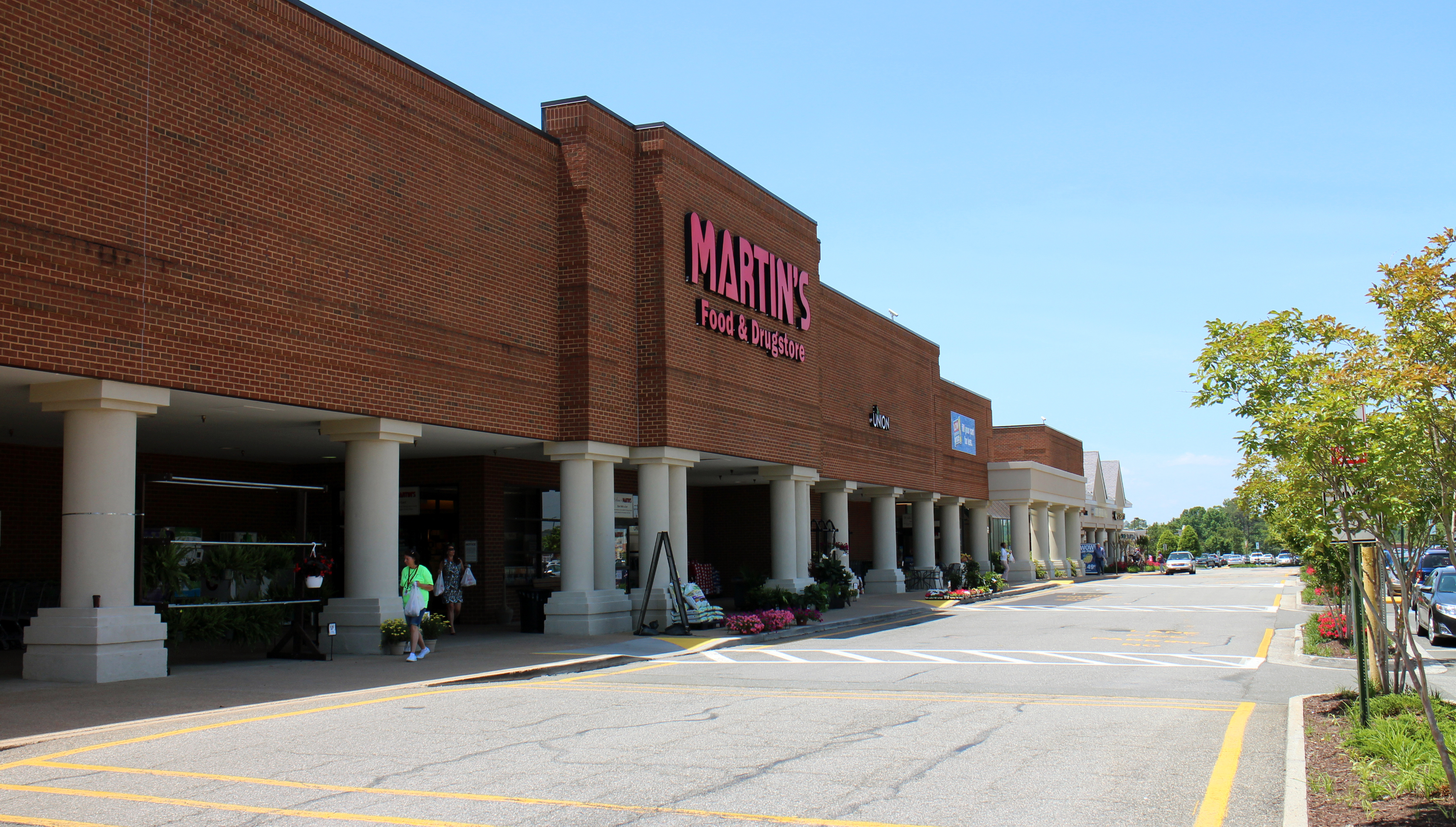 A Martin's anchors the Westpark shopping center, which changed hands last year. File photo - May 2015 - Katie Demeria.