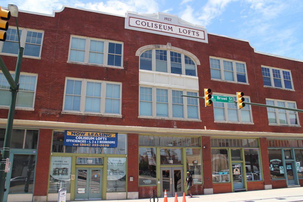 Louis Salomonsky sold off his Coliseum Lofts at West Broad and Bowe streets. Photo by Katie Demeria.
