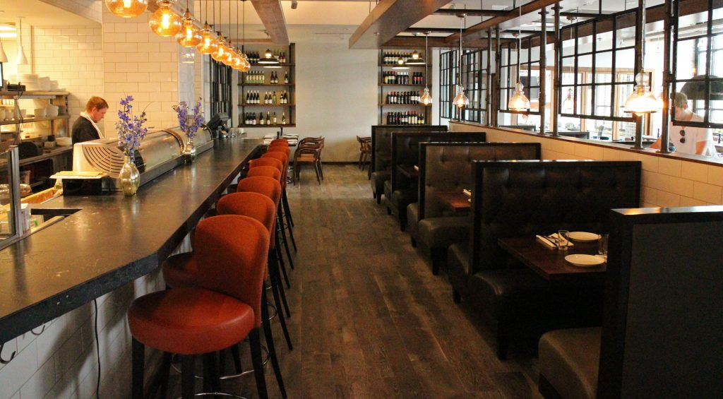 The Boathouse opened in a Short Pump hotel building this week. Photos by Michael Thompson.