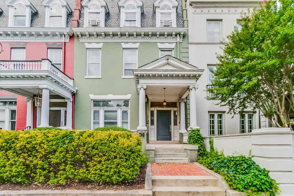 The property at 2233 Monument Ave. was recently sold and will likely be converted to a single-family home from apartments. Photos courtesy of Rob Moss, The Steele Group Sotheby's International Realty.