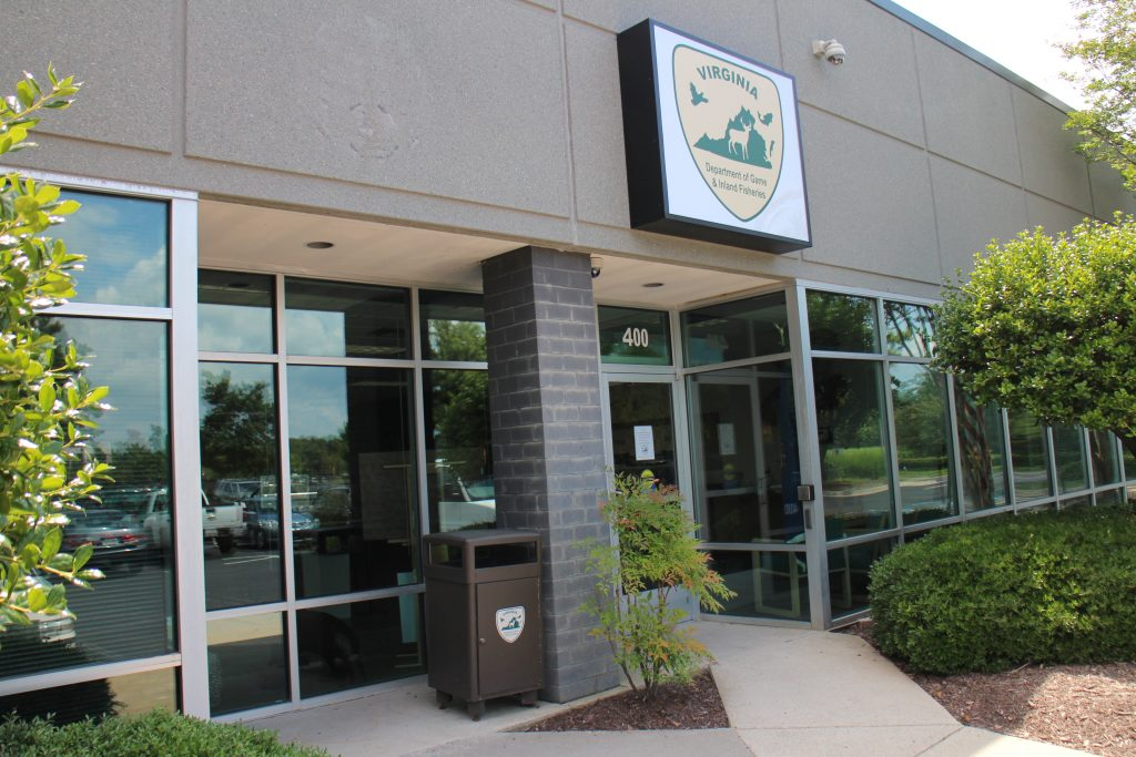 The Department of Game and Inland Fisheries recently bought a new headquarters space. Photos by Katie Demeria.