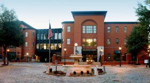 The agency's headquarters in Shockoe Slip.