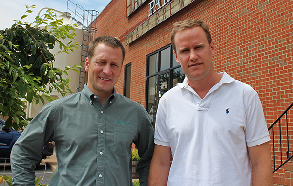 Hardywood's Eric McKay (left) and Patrick Murtaugh are expanding their business. Photos by Jonathan Spiers.