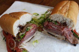 Nomad Deli sandwich