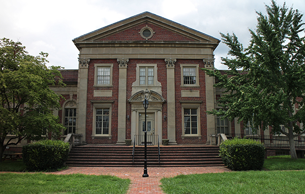 Veritas School recently purchased Virginia Hall to expand its campus. Photos by Katie Demeria.