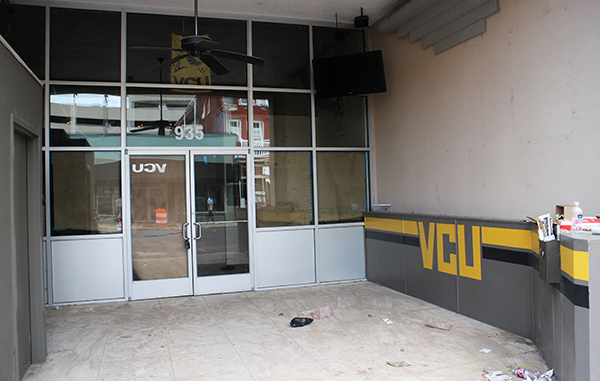 Campus Cookies had cleared out of its Grace Street space by Thursday. Photos by Michael Thompson.