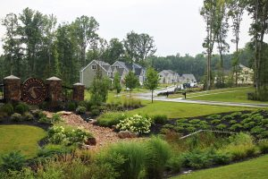 The CenterPointe Crossing subdivision comprises 81 homes, just one piece of the larger CenterPointe development. (Jonathan Spiers)