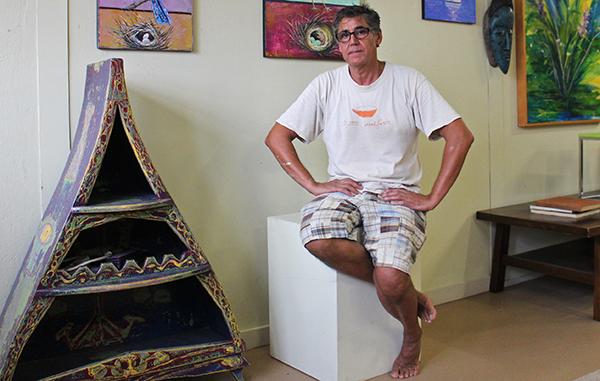 Mehmet Sahin Altug will move his art studio and shop to Carytown. Photos by Katie Demeria.