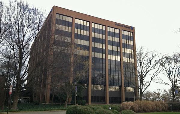 The Genworth campus off West Broad Street near Glenside Drive. (Michael Schwartz)