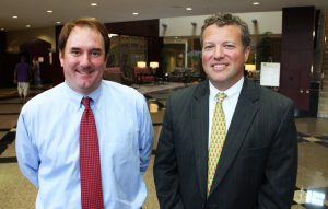 Chris Corrada (left) and Jeff Galanti