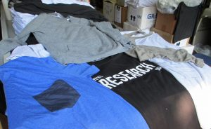 The company makes a variety of shirts in different styles for men and women, along with other clothing and accessories.