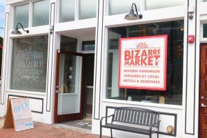 Laser art firm Big Secret hosted a pop-up shop in Jackson Ward.