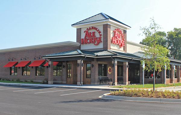 Carolina Ale House will set up its first Virginia location in Short Pump. Photo courtesy of Carolina Ale House.