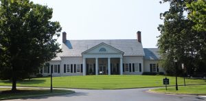 The course's clubhouse will be open to some spectators during the event.