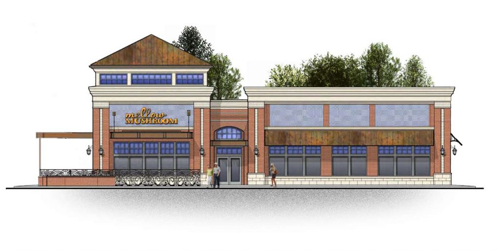 Mellow Mushroom will open a new location in Chesterfield County. Image courtesy of Cushman & Wakefield | Thalhimer.