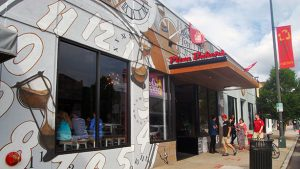 A different franchisee opened Carytown's Mellow Mushroom in 2013. Photo by Lena Price.