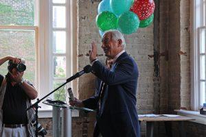 Jim Ukrop speaks at Thursday's event.