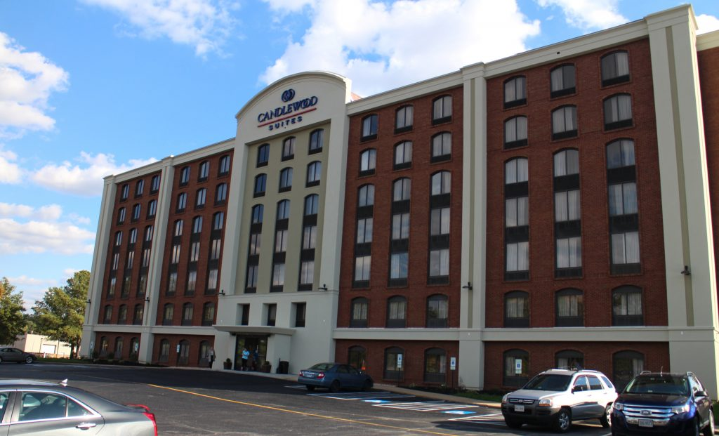 A Henrico hotel property was recently converted into a Candlewood Suites.Photos by Katie Demeria.