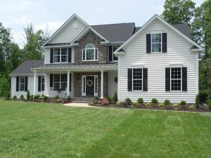 Royal Dominion has built homes in the Hickory Hill community in Hanover, and is using a similar style in Liesfield Farm.