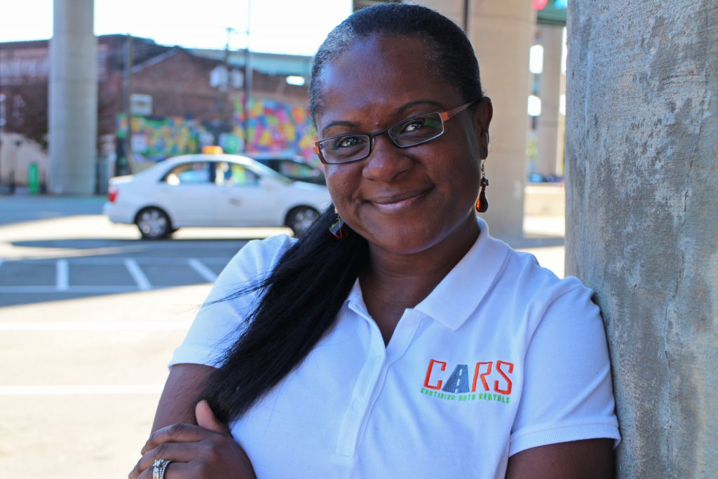 Coretta Kingston is launching an on-demand rental car service and app. Photos by Michael Thompson.