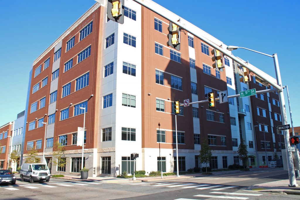True Health has moved into the HDL building, which also secured VCU as a tenant. Photo by Katie Demeria.