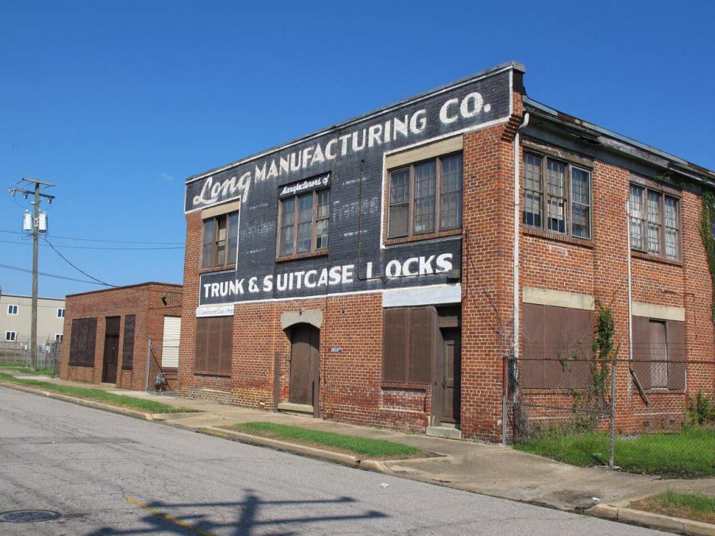 A Petersburg industrial property is set to be renovated into one-bedroom apartments. Photo courtesy of Jordan