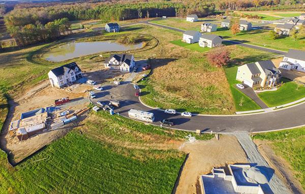 Royal Dominion has new homes under construction at Liesfield Farm at Bacova. Photos courtesy of Royal Dominion.