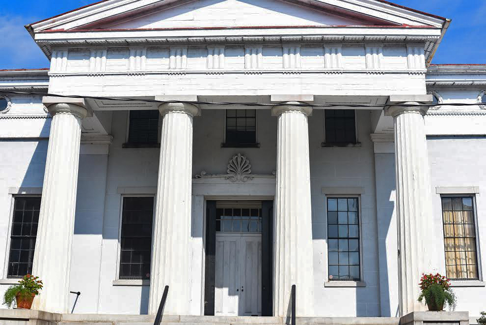The Exchange Building in Petersburg is home to the Siege Museum and will undergo some big upgrades over the next year. Photo courtesy city of Petersburg.