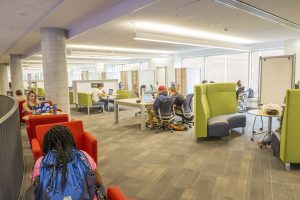 The project renovated existing space and added more than 90,000 square feet.