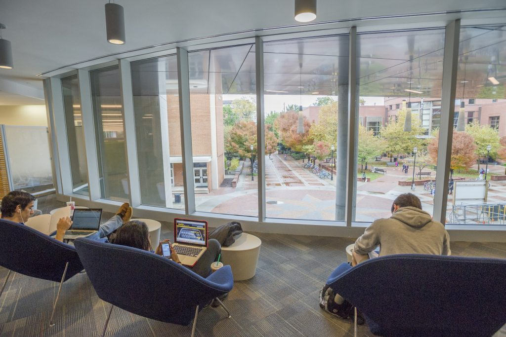VCU reopened a part of its main Monroe Campus library after heavy renovations. Images courtesy of VCU.