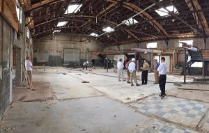Three Notch'd will move into a 4,000-square-foot section of the property. Photo courtesy of Birck Turnbull.